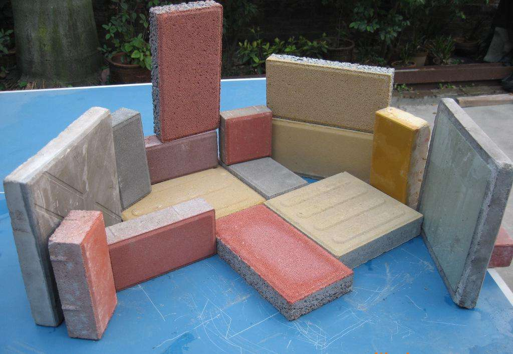 源城区环保砖生产